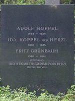 Fritz Grünbaum Grabstein