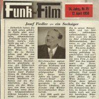 Funk – Film 12.04.1958