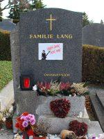 Hansi Lang Grabstätte