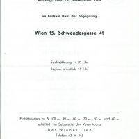 Haus der Begegnung 25.11.1984 – 2