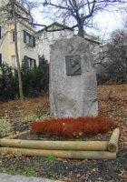 Heinz Conrads Park Gedenkstein