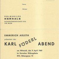 Hernalser Bildungsheim 09.04.1969 – 1