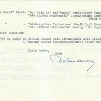 Ichmann an Arleth 08.07.1963 – 2