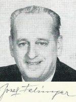 Josef Felsinger mit Unterschrift