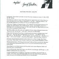 Josef Fiedler Bio – 1
