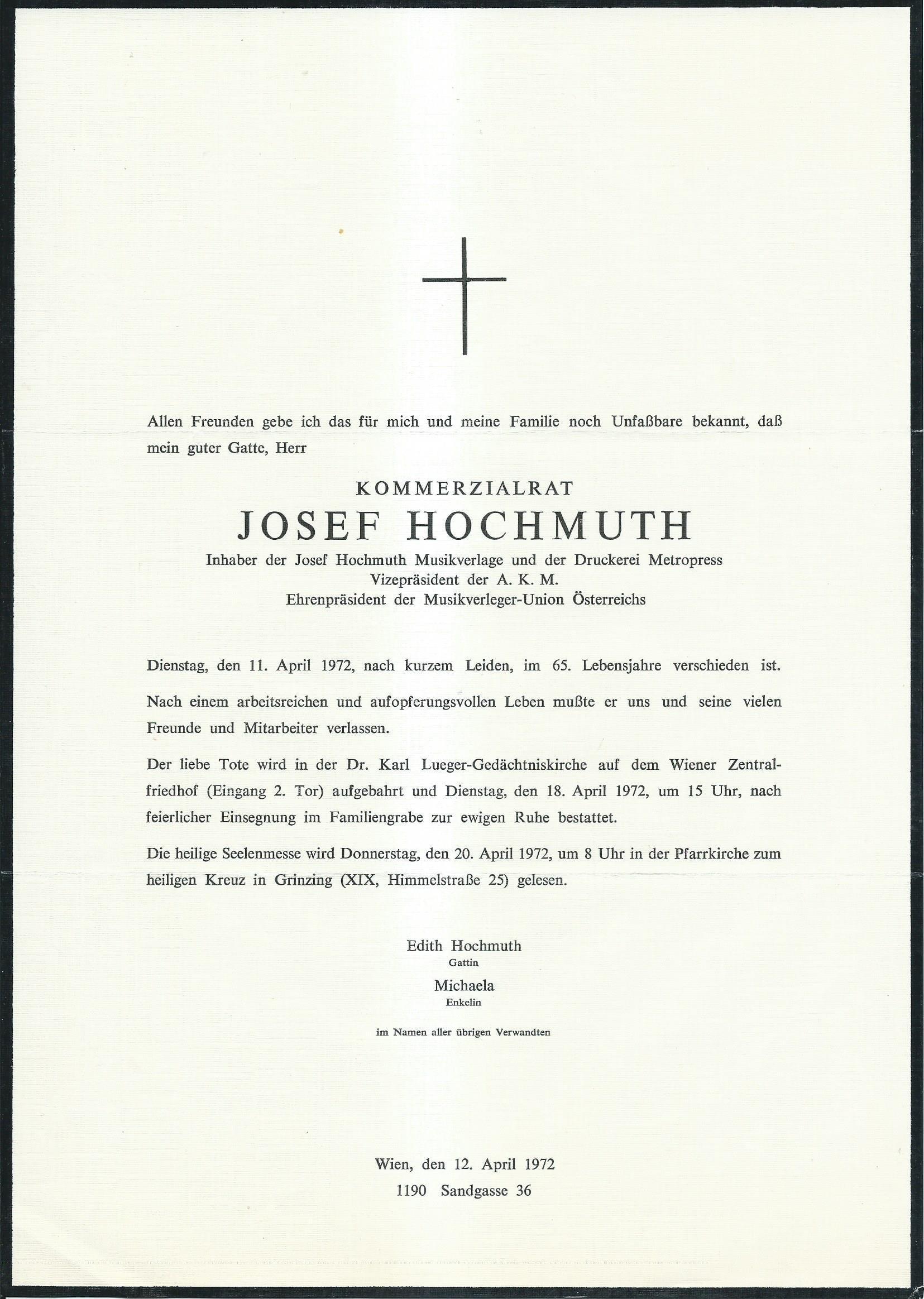 Josef Hochmuth Parte