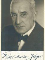 Karl Maria Jäger mit Unterschrift