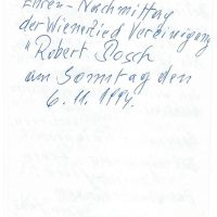 Karte Höchsmann an Arleth 06.11.1994 – III