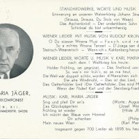 Karte Jäger an Filipek 17.04.1956 – 1