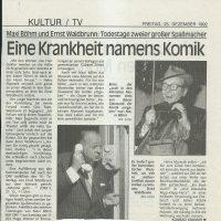 Kurier 25.12.1992