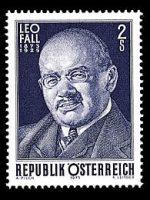 Leo Fall Briefmarke