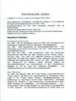 Leopold Grossmann Curriculum vitae 1