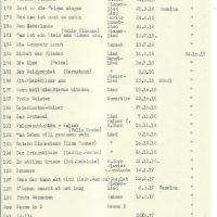 Liederliste – 07