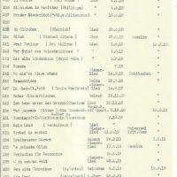 Liederliste – 09