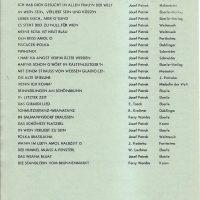 Liederliste – 2 – 2