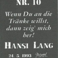 Losgeher Nr. 10