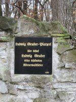 Ludwig Gruber Gedenkstein