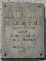 Ludwig Gruber Gedenktafel