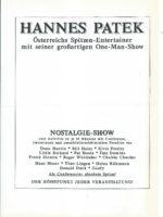 Pressemappe Hannes Patek – 1