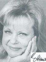 Marianne Mendt mit Unterschrift