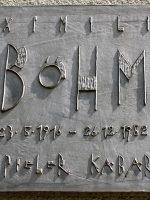 Maxi Böhm Gedenktafel