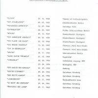 Operetten Uraufführungen