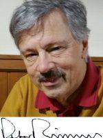 Peter Meissner mit Unterschrift