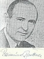 Raimund Brettner mit Unterschrift