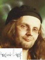 Robert Wolf mit Unterschrift
