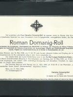 Roman Domanig-Roll Parte