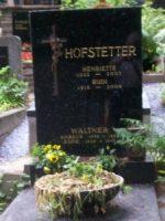 Rudi Hofstetter Grabstein