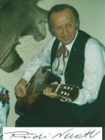 Rudi Neroth mit Unterschrift