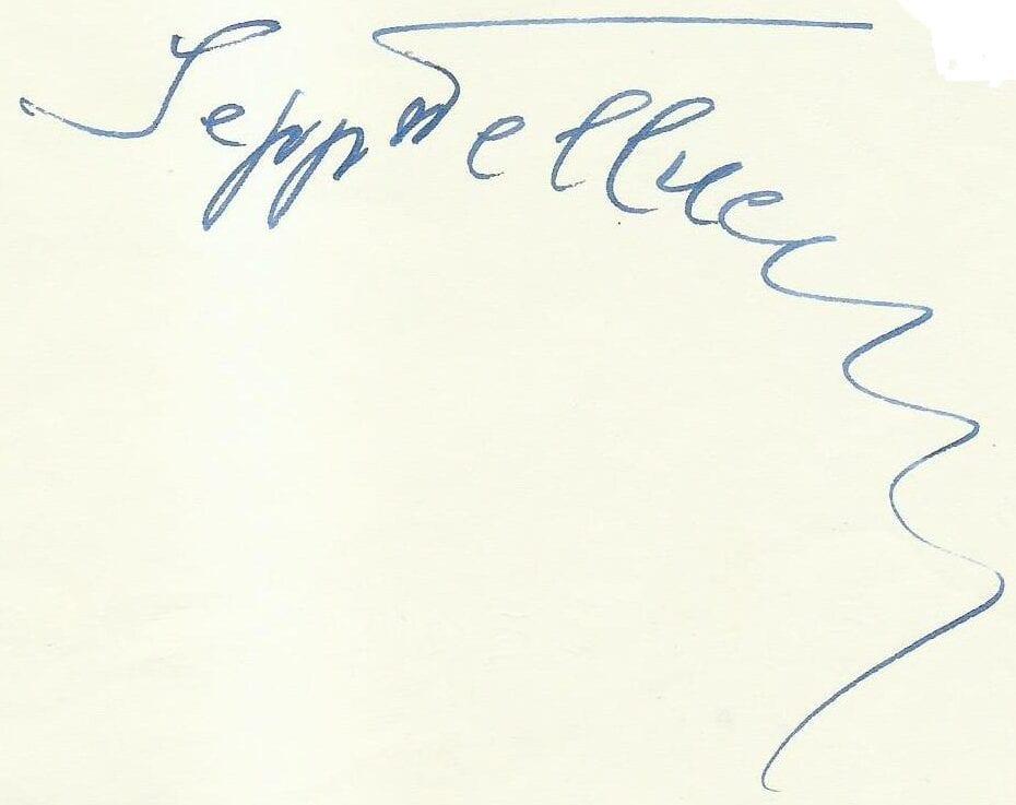S.F. Unterschrift