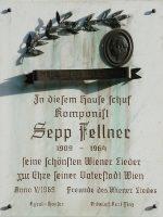 Sepp Fellner Gedenktafel
