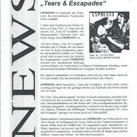Tears & Escapades