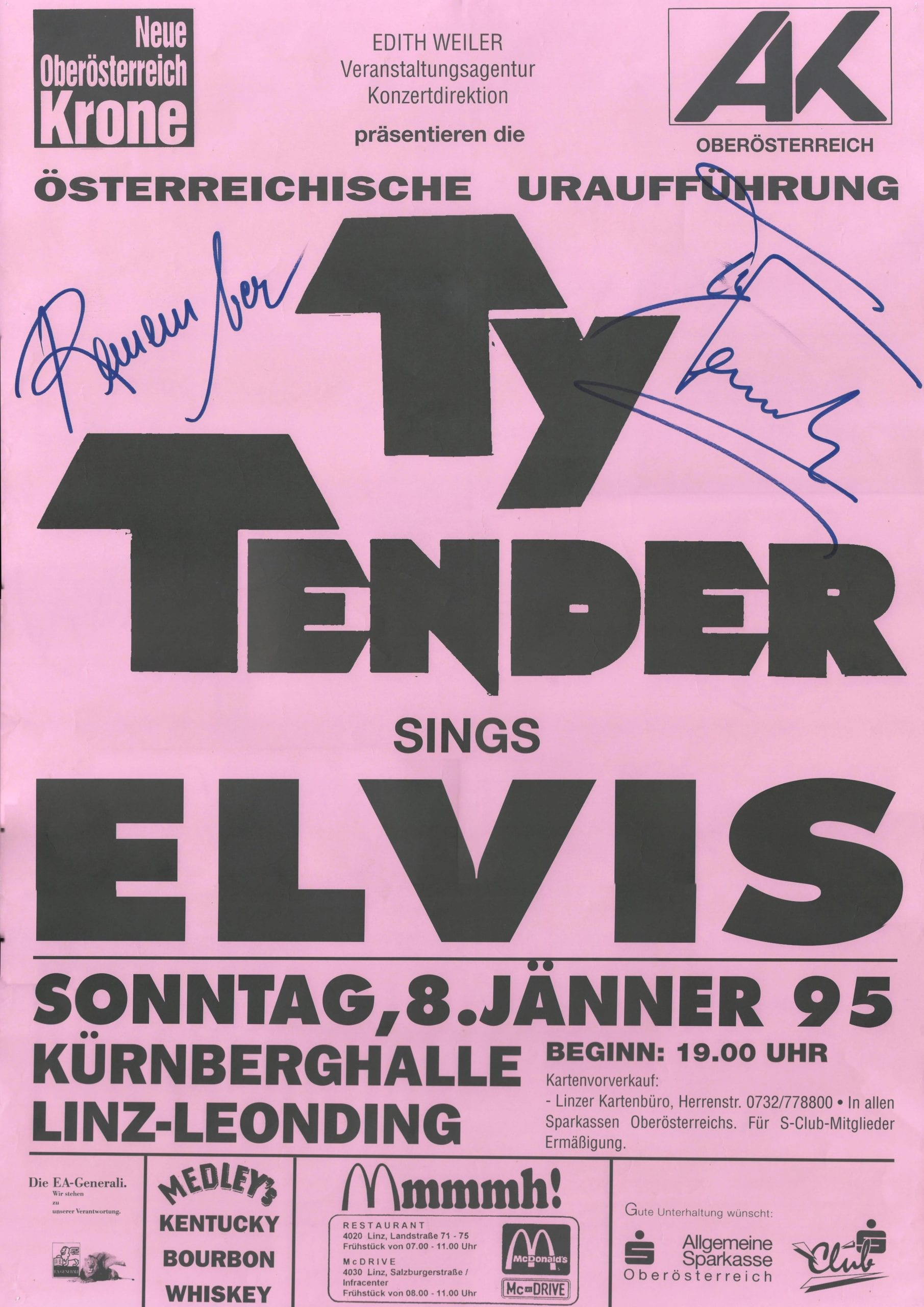 Ty Tender – Elvis