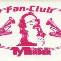 Ty Tender Fan-Club Aufkleber 2