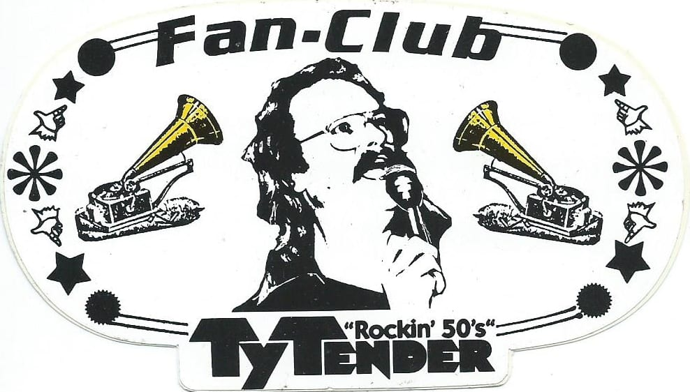 Ty Tender Fan-Club Aufkleber