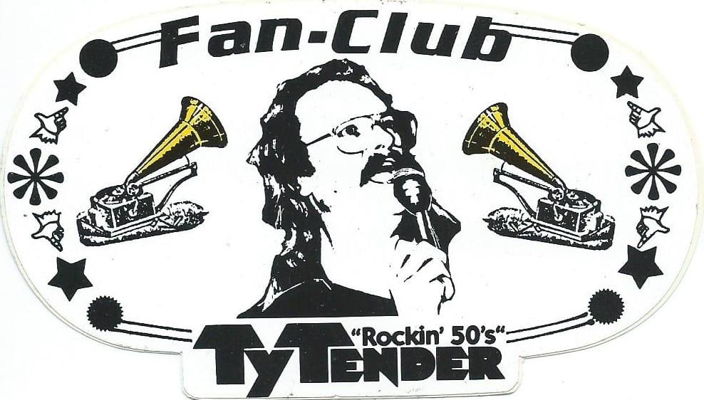 Ty Tender Fan-Club Aufkleber