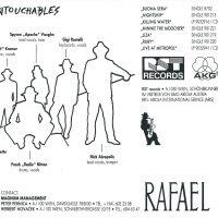 Untouchables Autogrammkarte Rückseite