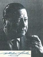 Willi Fuchs mit Unterschrift