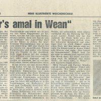 Wochenschau 25.11.1973