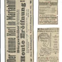 div. Zeitungsinserate – 2