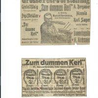 div. Zeitungsinserate – 3
