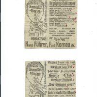 div. Zeitungsinserate – 5