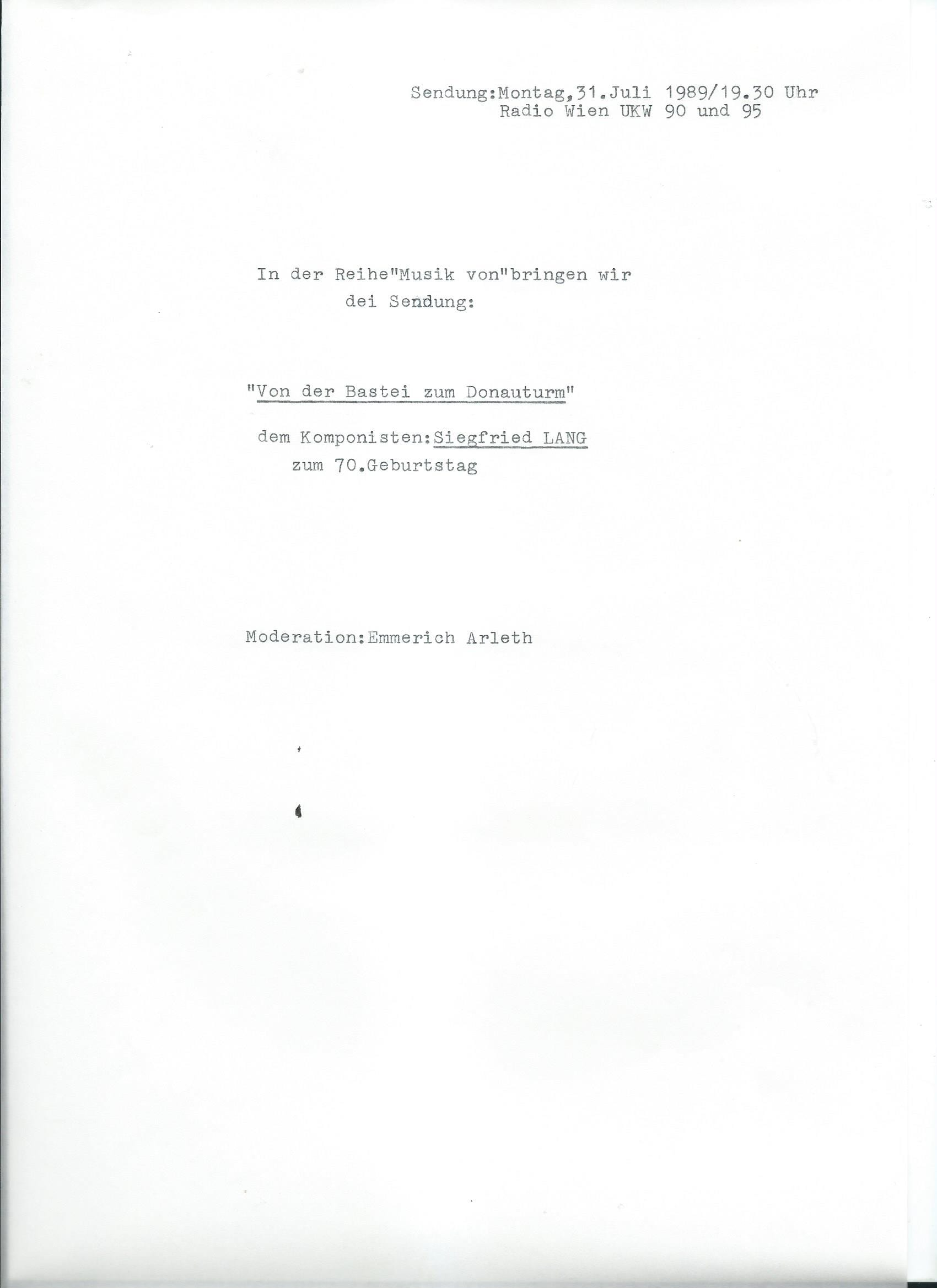 31.07.1989 – 1