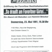 Bezirksmuseum 23.05.1991