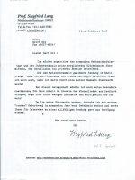Brief Lang an Zib 3. Advent 2003