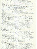 Brief Track an Arleth mit Notizen – 2