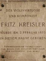 Gedenktafel Wien